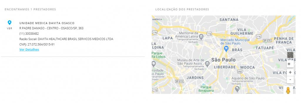 resultado busca porto seguro saúde Osasco
