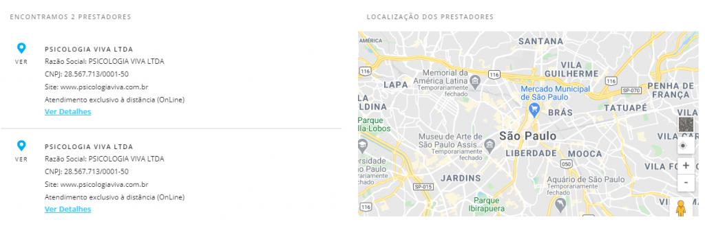 resultado busca porto seguro saúde Santana de Parnaíba