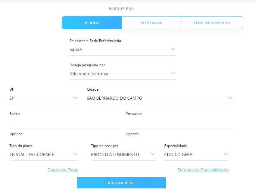 seleção informações porto seguro saúde São Bernardo do Campo