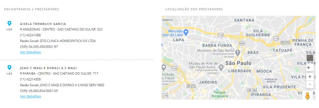 resultado busca porto seguro São Caetano do Sul