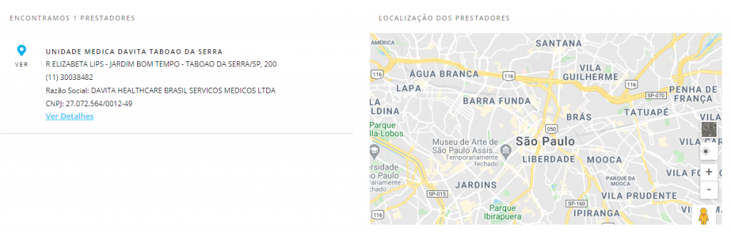 resultado busca porto seguro Taboão da Serra